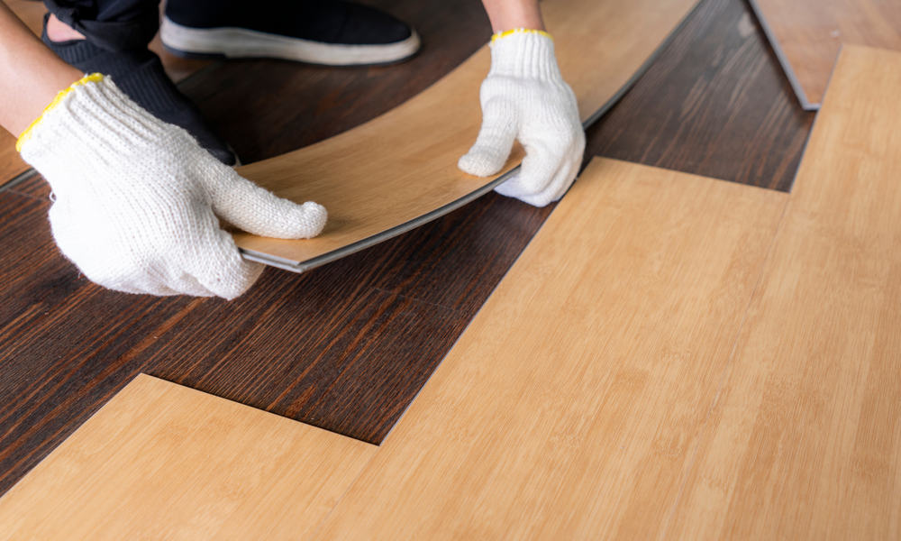 6 Easy Steps to install vinyl plank flooring