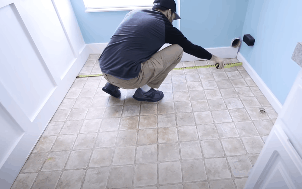 Measure the surface area of your floor