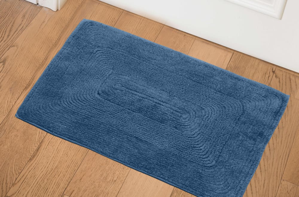 Use rags and mats to prevent scuffs