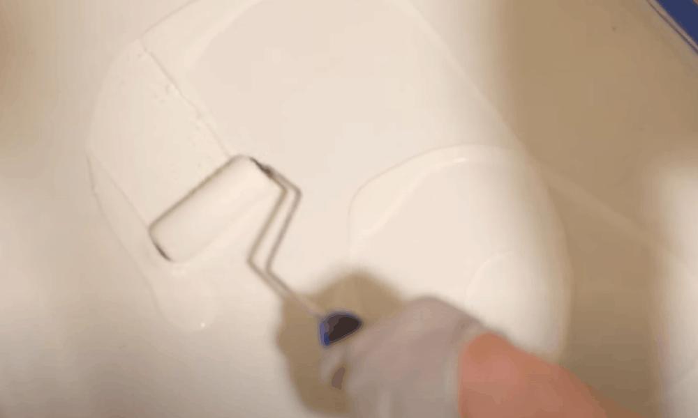 Apply Enamel Floor Paint