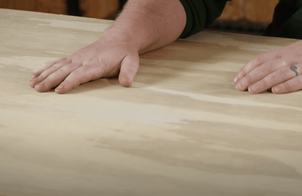 Clean the Plywood