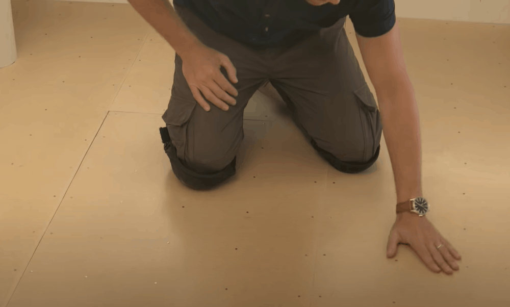 Clear the Room and Prepare the Subfloor