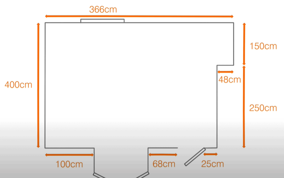 Measure the Installation Area