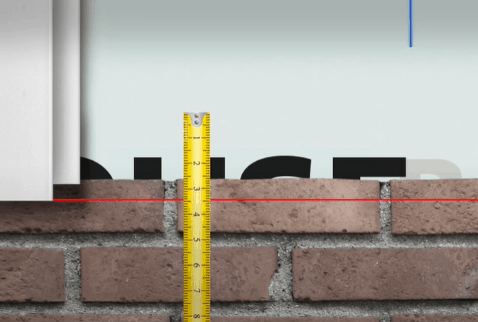Measure the Widths of the Corner Posts