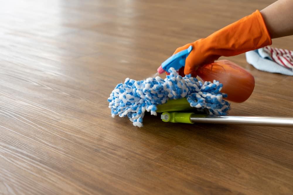 Tools to keep your vinyl floor clean