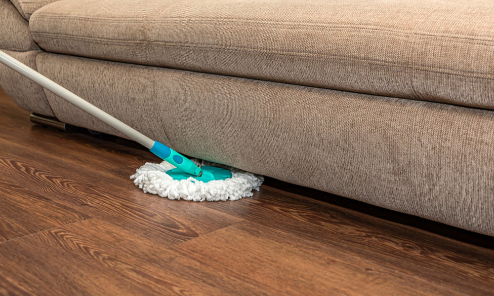 Use safe cleaning tools.