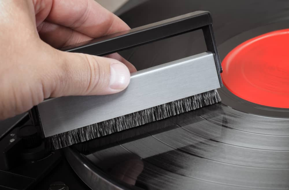 Use an Anti-Static Record Cleaning Brush