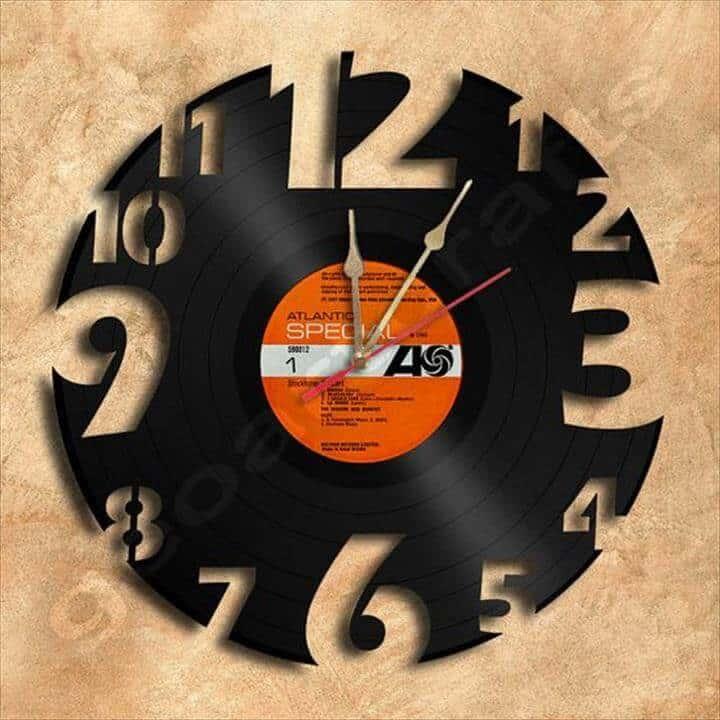 Cutout Clock