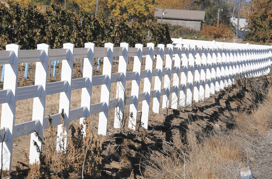 Gridwork Fencing