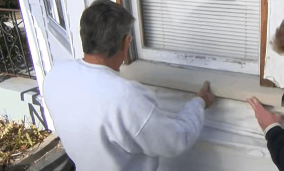 Install Vinyl Windowsill