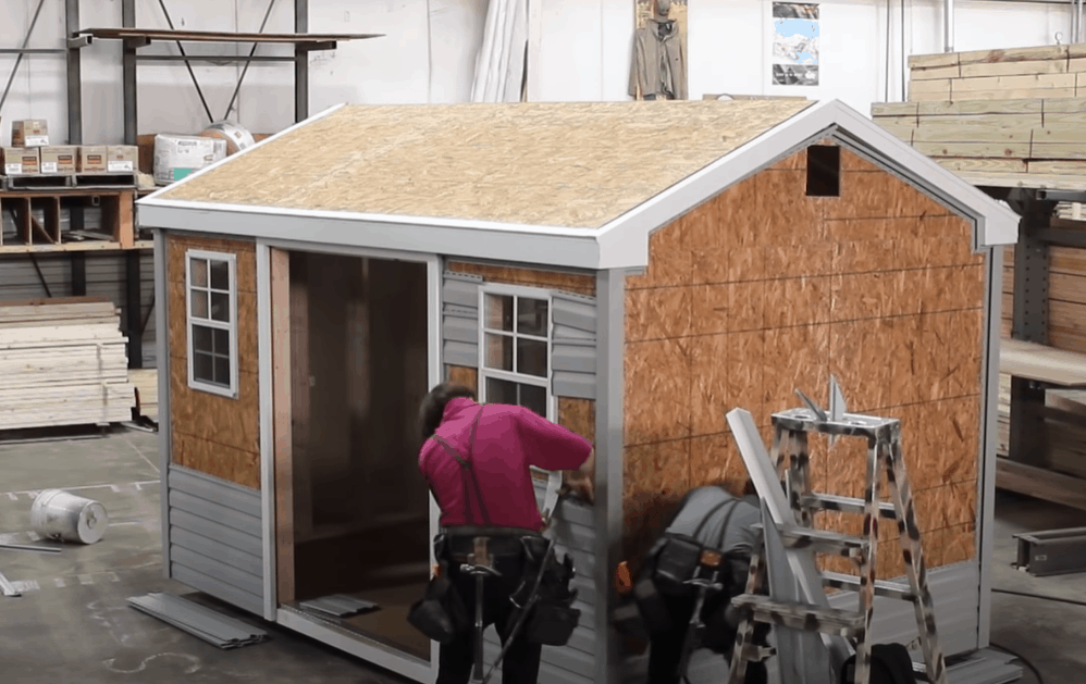 Install the Rest of the Vinyl Siding