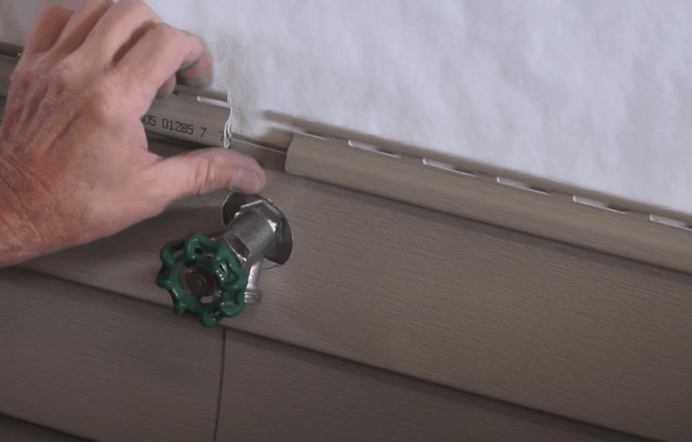 Install the Siding Panels