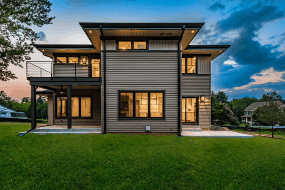 New Contemporary Ranch House