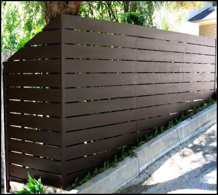 Sharp New Fence