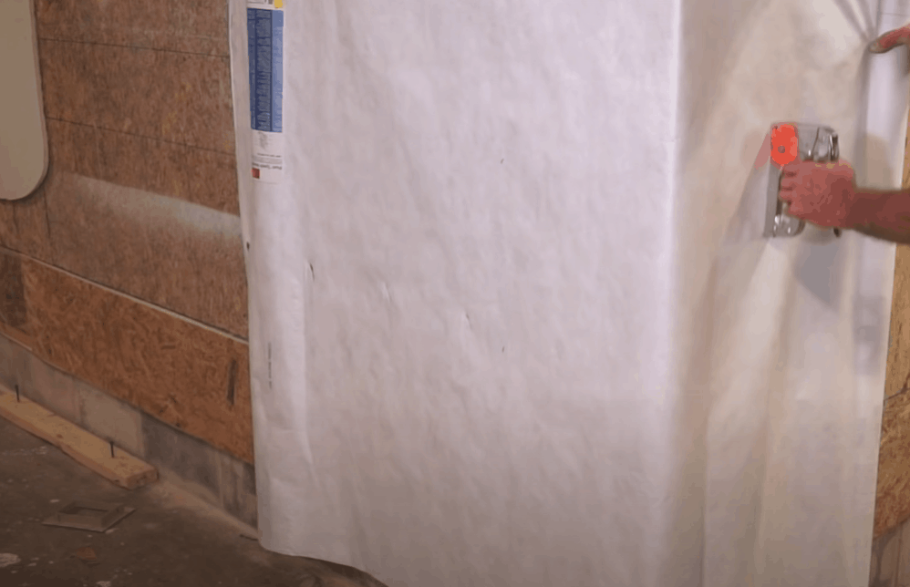 Sheath the Walls and Install a Moisture Barrier