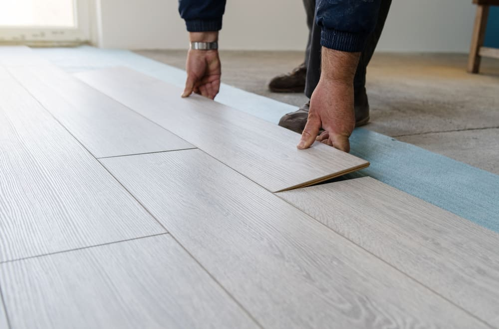 Should you lay a new vinyl floor over an old one