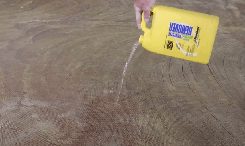 Soften the Remaining Adhesive