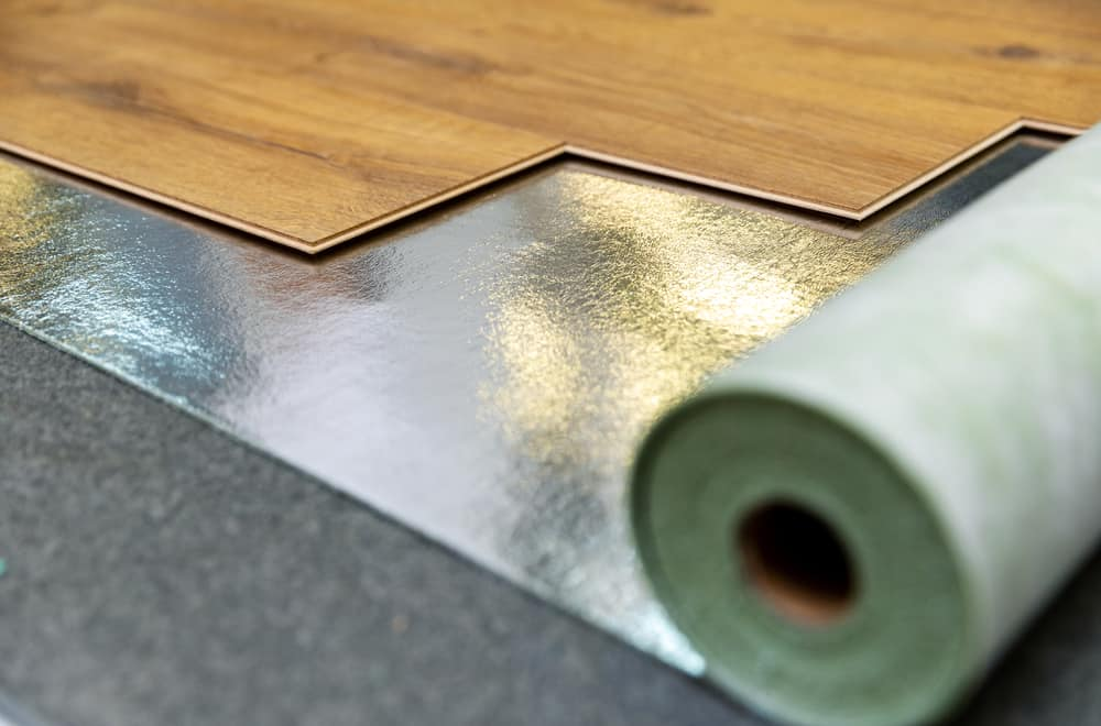 Two options with or without underlayment