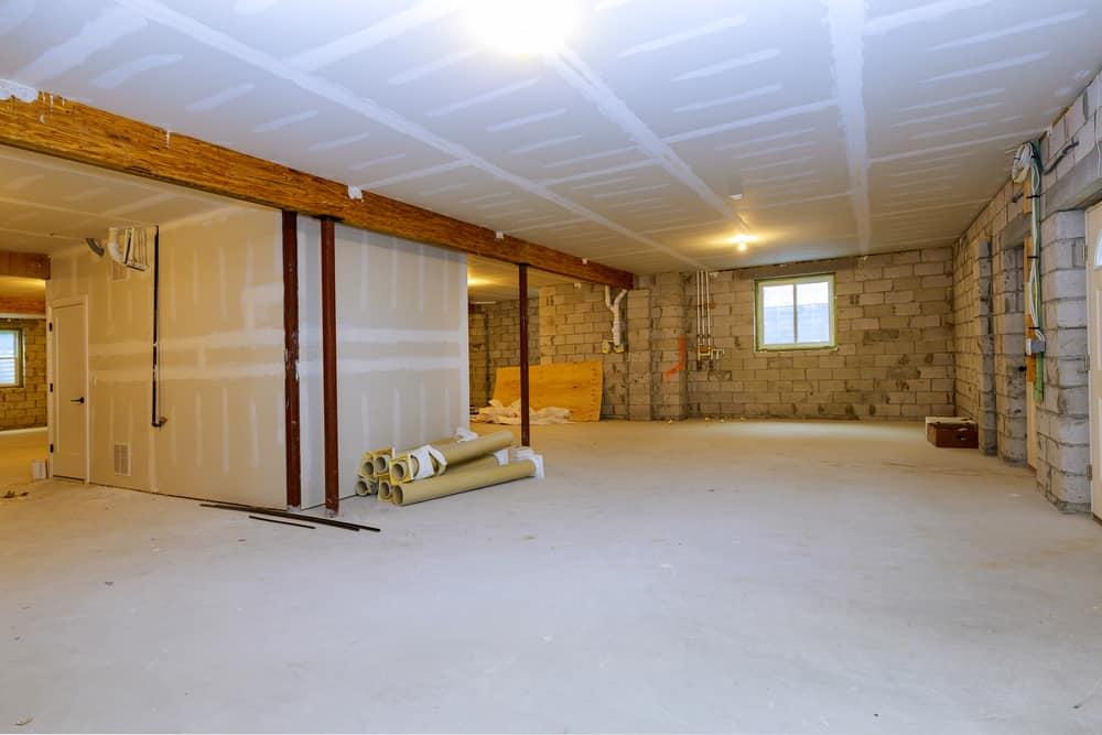 Vinyl Plank Flooring on Concrete Basement