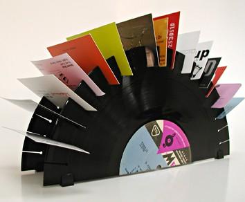 Vinyl Rolodex