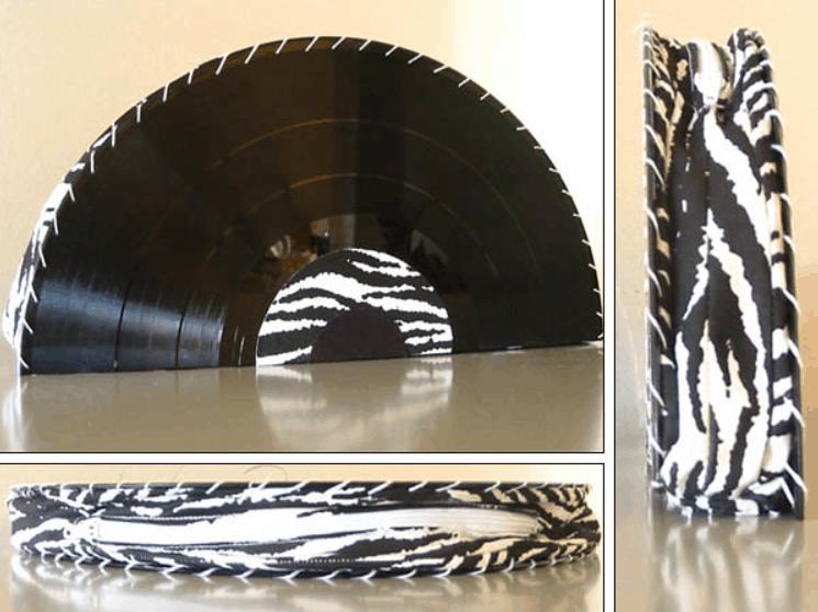 Zebra Print Vinyl Purse