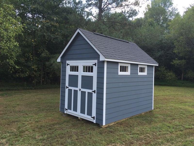Hardiplank shed siding