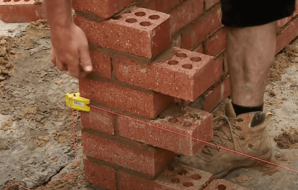 Install brick ties