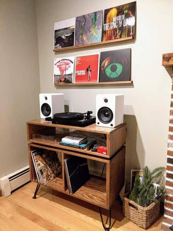 Minimalist Music Corner