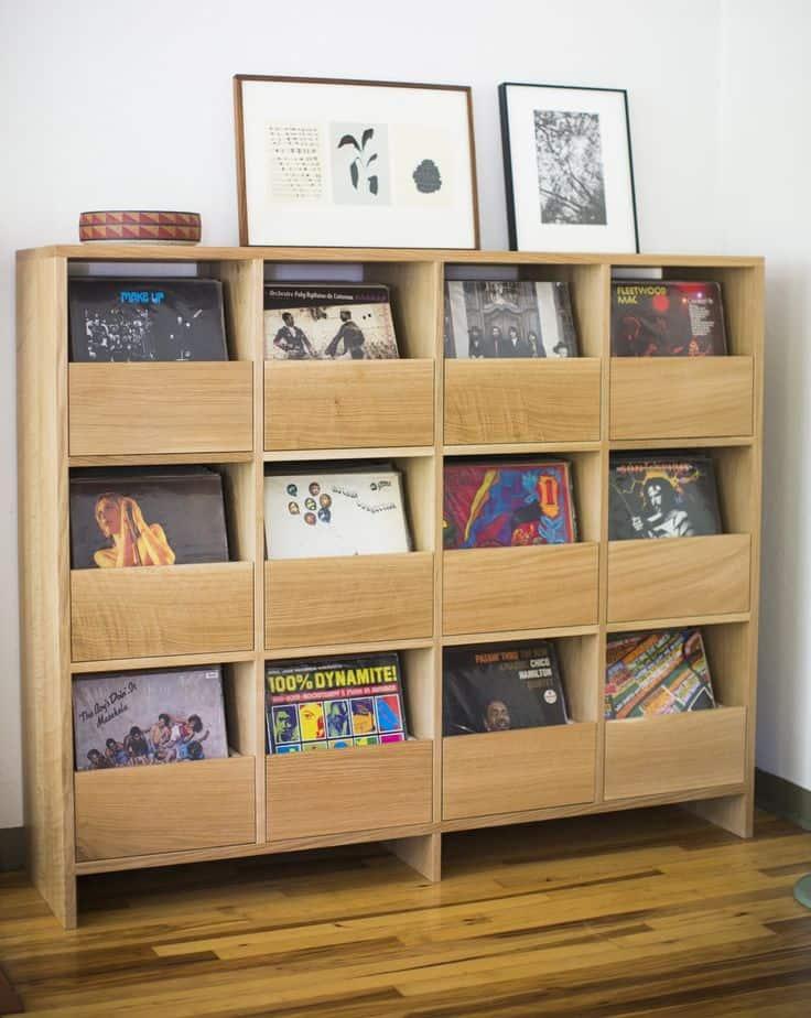 Vinyl Cabinet