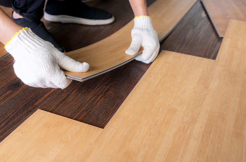 When isn't click vinyl plank flooring suitable